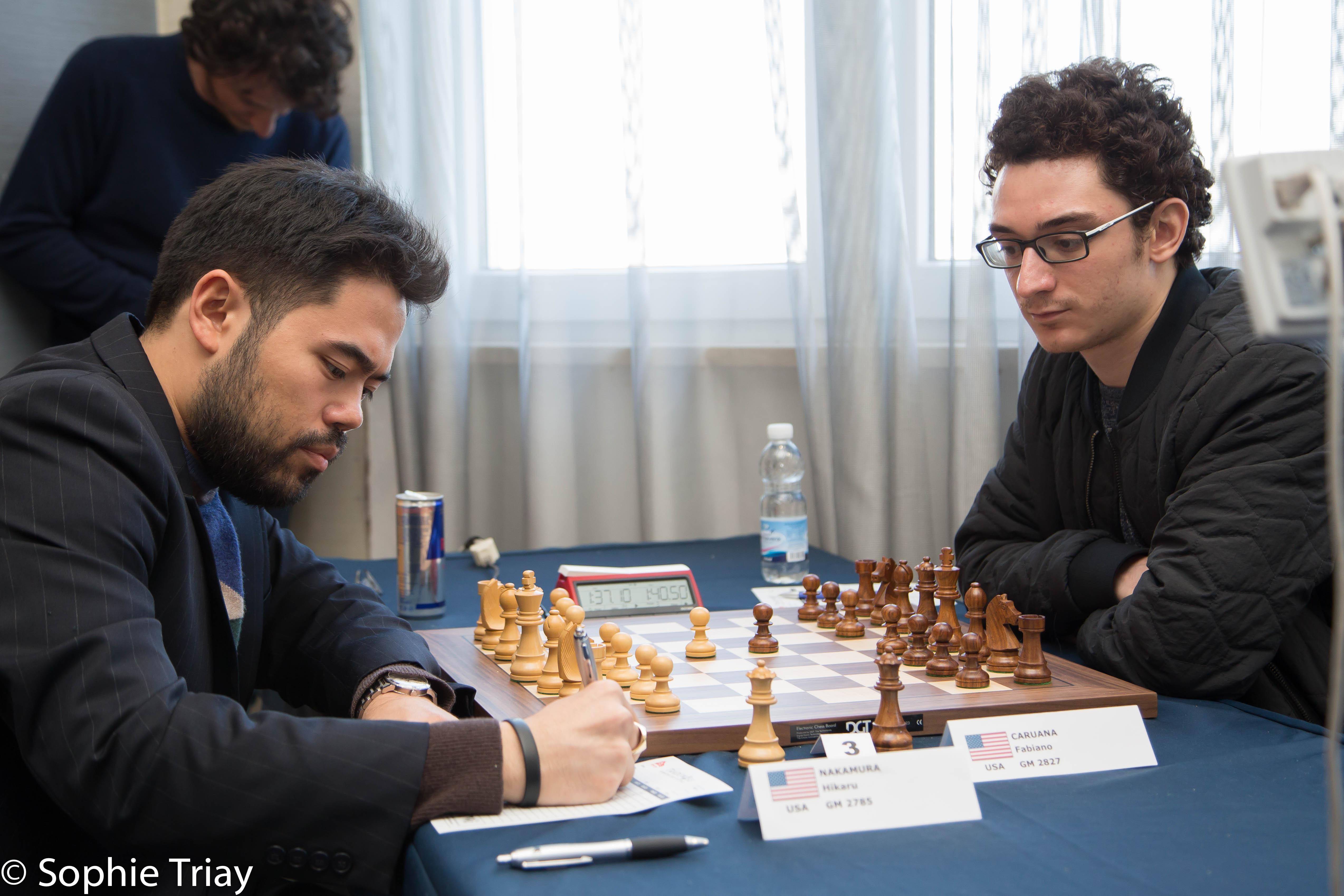 Hikaru Nakamura, Fabiano Caruana