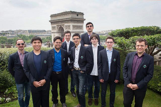 2016 Paris GCT Field