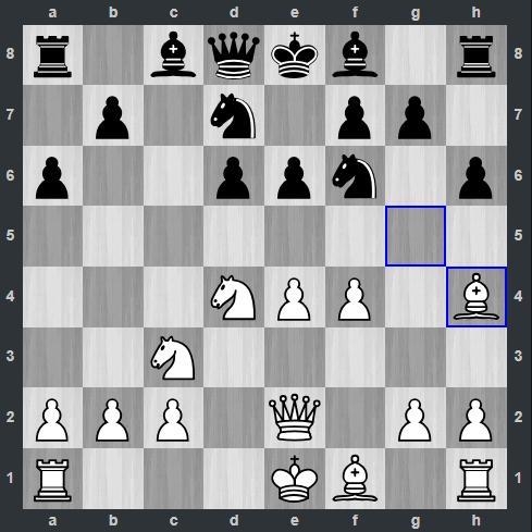 Anand – Nepomniachtchi pozycja po 9. Gh4 | Tata Steel Masters 2019