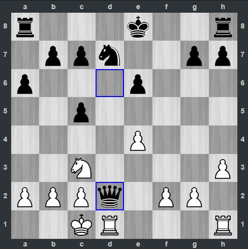 Carlsen – Anand pozycja po 15. ... Hd2 | Tata Steel Masters 2019