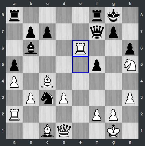 Ding – Anand pozycja po 19. We6   Tata Steel Masters 2019