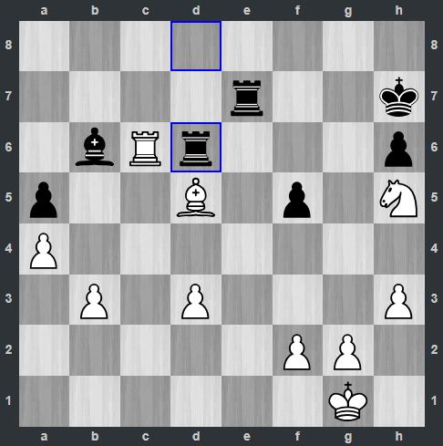Ding – Anand pozycja po 28. ... Wd6 | Tata Steel Masters 2019