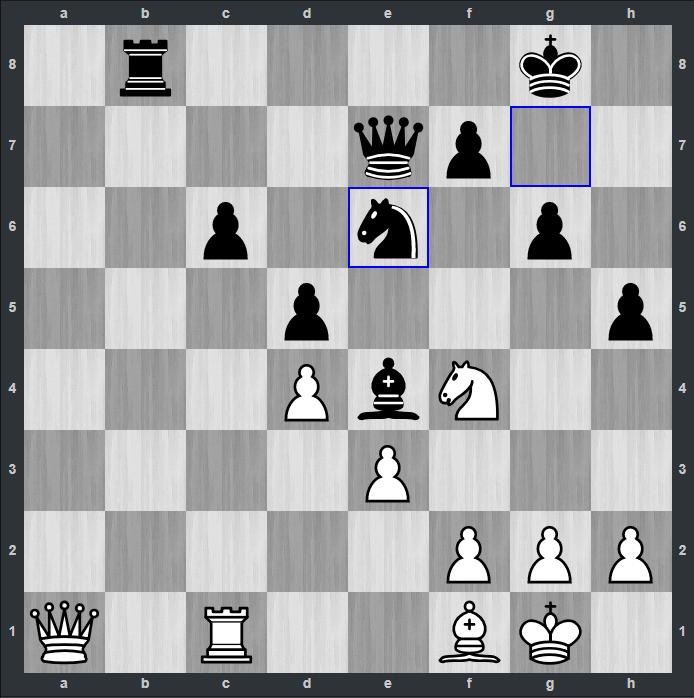 Ding-Fedoseev po 26…Se6