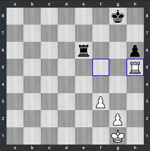Fedoseev – Carlsen pozycja po 46. Wh5 | Tata Steel Masters 2019