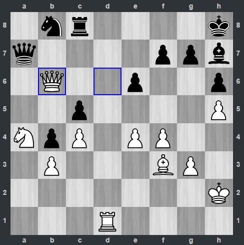 Fedoseev – Shankland pozycja po 36. Hb6 | Tata Steel Masters 2019