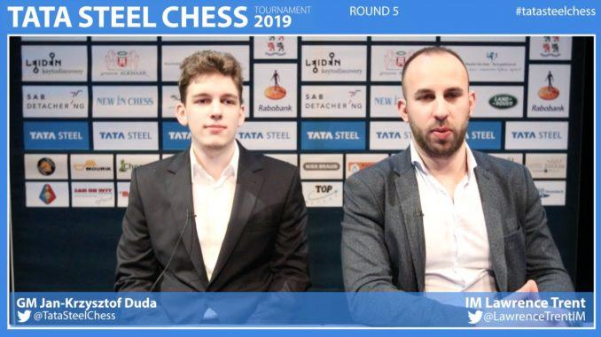 Jan-Krzysztof Duda komentuje Tata Steel Masters 2019