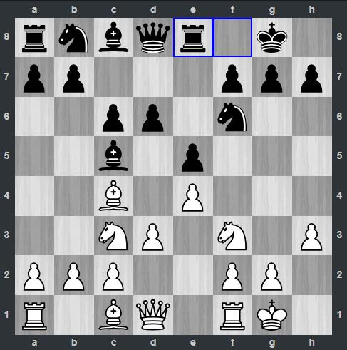 Rapport – Kramnik pozycja po 7. ... We8 | Tata Steel Masters 2019