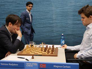 Tata Steel Masters 2019 Giri ogląda partię Radjabov - Carlsen