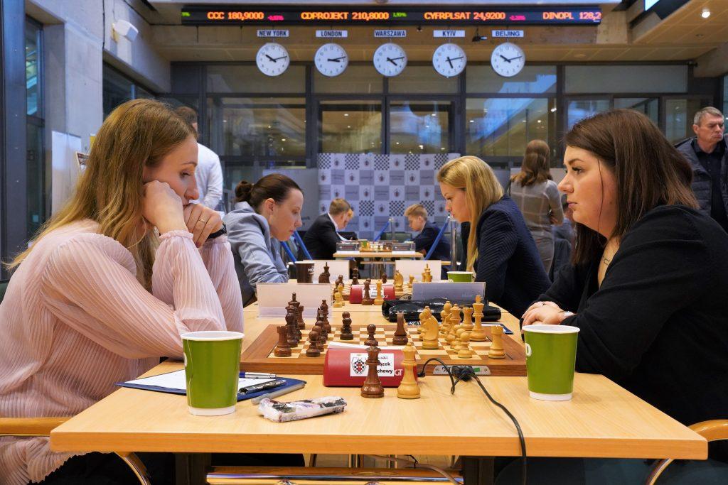 Anna Warakomska, Klaudia Kulon, Mistrzostwa Polski w szachach