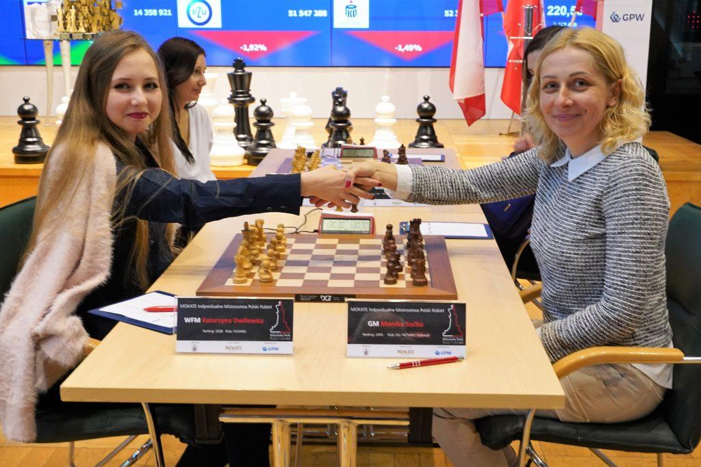 Katarzyna Dwilewicz, Monika Soćko, Mistrzostwa Polski w szachach Kobiet 2019