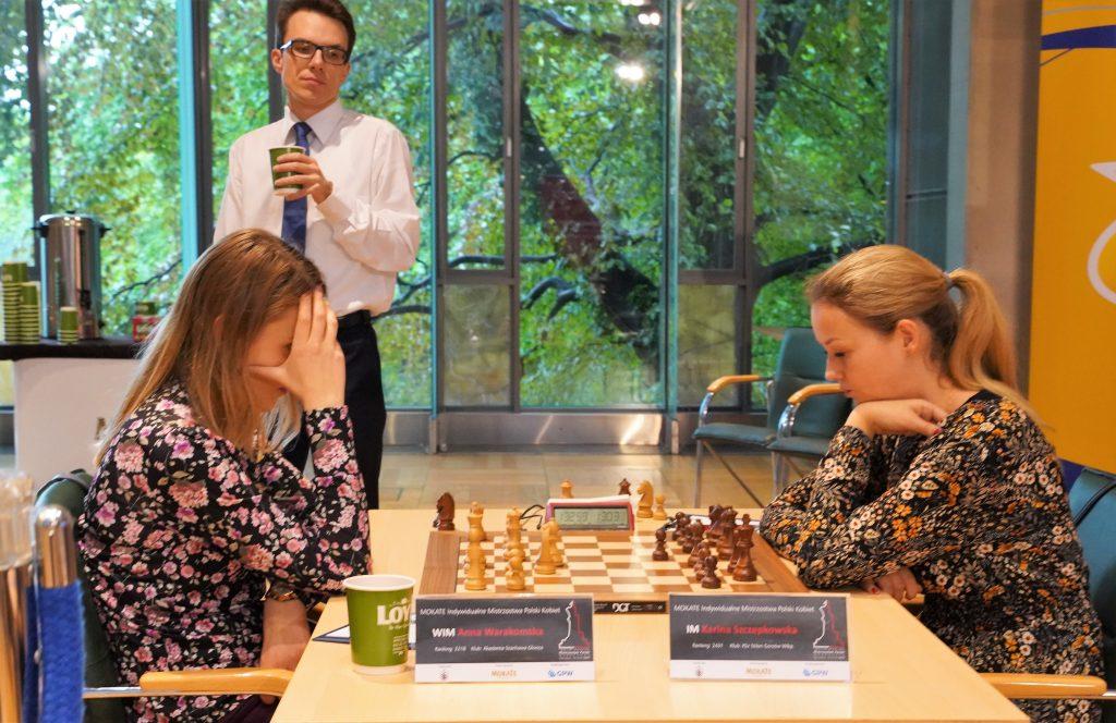 Anna Warakomska, Karina Szczepkowska, Mistrzostwa Polski w szachach Kobiet 2019