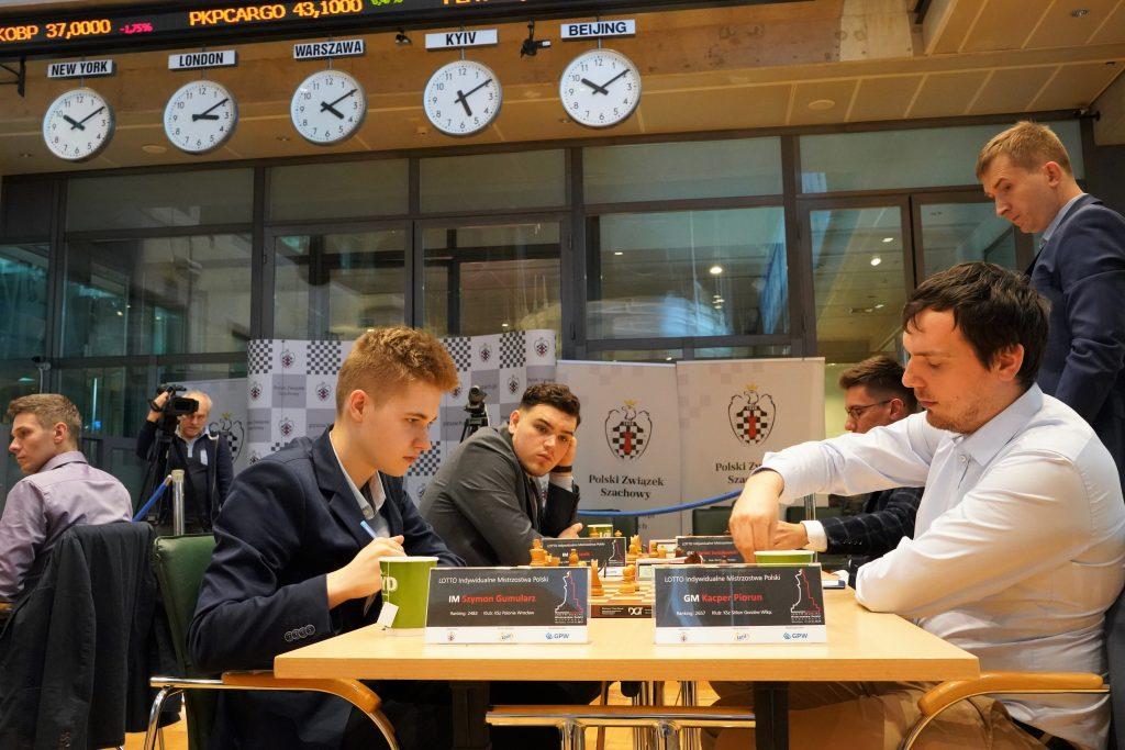 Szymon Gumularz, Kacper Piorun, Mistrzostwa Polski w szachach 2019