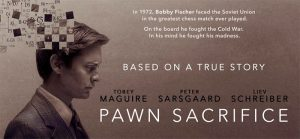 Pawn sacrifice, plakat filmu