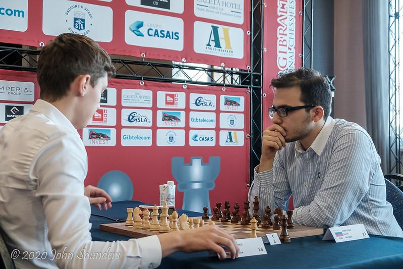 Andrey Esipenko v David Paravyan semi-final