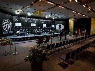 sala gry Turniej Pretendentów, Jekaterynburg 2020
