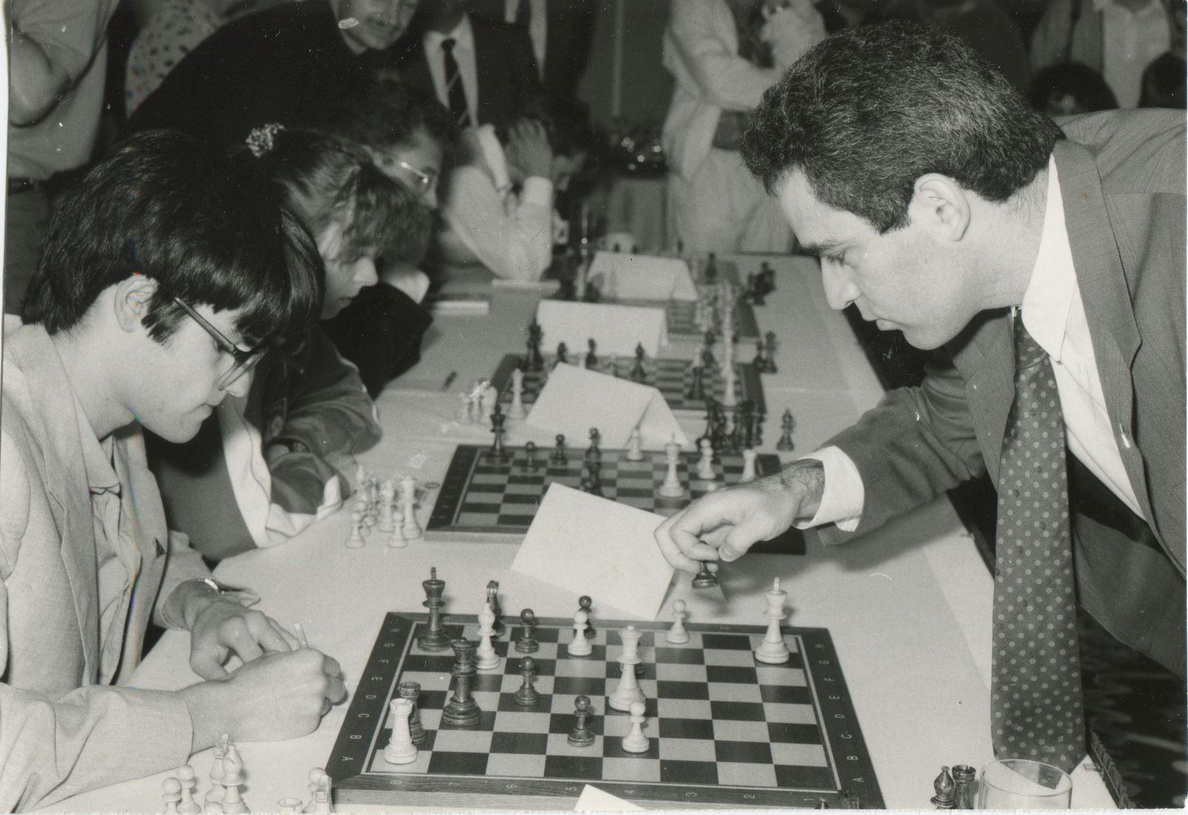 Kaim Piotr – Kasparov Symul W-wa 1991