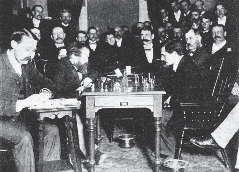 steinitz and lasker 1894