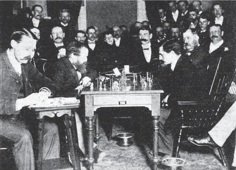 steinitz and lasker 1894