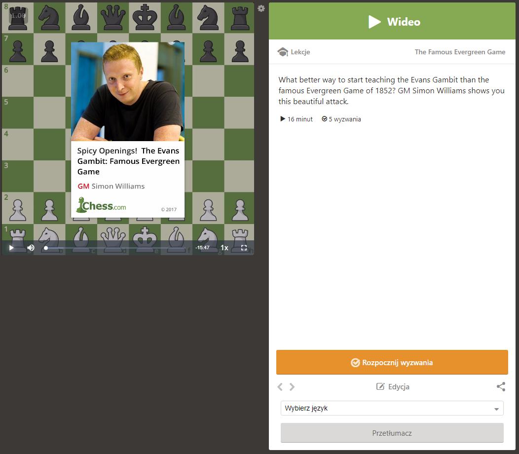 debiuty szachowe - chess.com