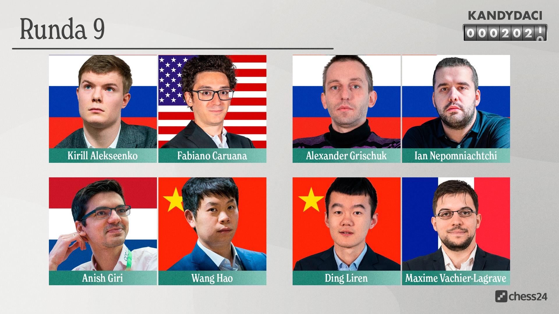 Candidates – Pairings 9 Pairings – HD